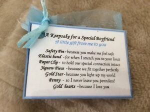 Image Is Loading I Love You Keepsake Gift For My Boyfriend