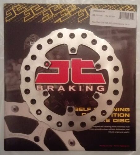 Husaberg FC600 1999 to 2003 JT Brakes Self Cleaning 220mm REAR Wavy Brake Disc