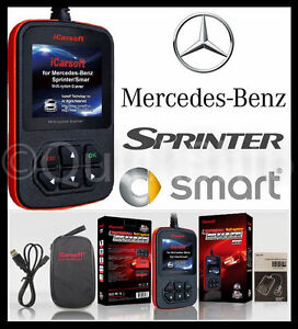 Mercedes benz diagnostic scanner tool srs abs check engine for Mercedes benz scan tool