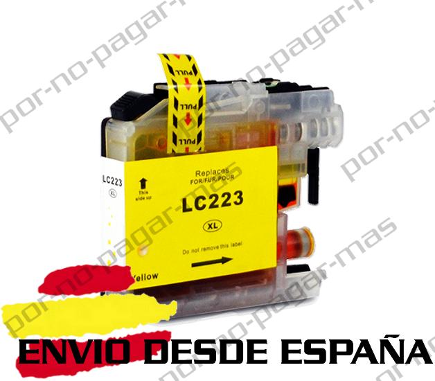 1 CARTUCHO COMPATIBLE AMARILLO NonOem BROTHER LC223 DCP-J4120DW DCPJ4120DW