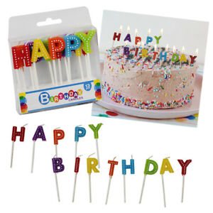 Image Is Loading Happy Birthday Candles Boys Girls Kids Adult Party