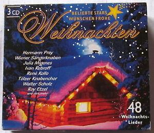 Top Weihnachtslieder.Details Zu Top 3 Cd S Beliebte Stars Wünschen Frohe Weihnachten 48 Weihnachtslieder