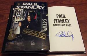 PAUL-STANLEY-SIGNED-BACKSTAGE-PASS-BOOK-KISS-STAR-CHILD-LOVE-GUN-AWESOME
