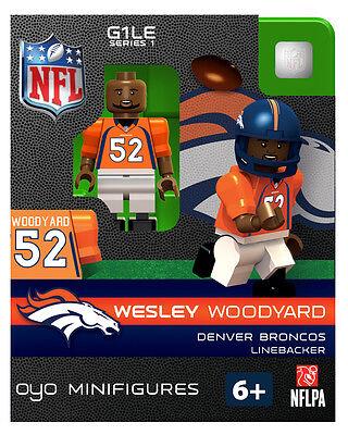 WESLEY WOODYARD NFL DENVER BRONCOS football Oyo Mini Figure G1