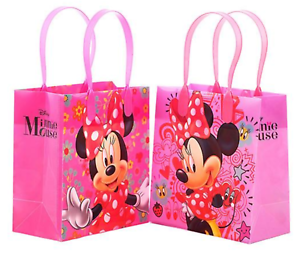 12PCS-Disney-Minnie-Mouse-Goodie-Party-Favor-Gift-Birthday-Loot-Bags-Licensed