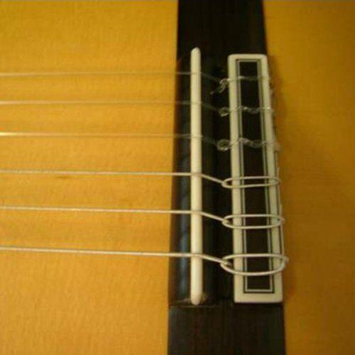 Durable Ivory Bone Bridge Saddle Nut For 6 String Acoustic Classical
