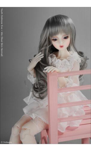 "8-9 /""  Digital Wave Wig Dollmore  1//3BJD OOAK Supplier SD wig Grey"