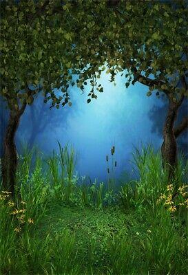 Botanic Gardens Design Photoshoot Props Photo Background Studio Prop 7x7FT Vinyl Photography Backdrop,Forest