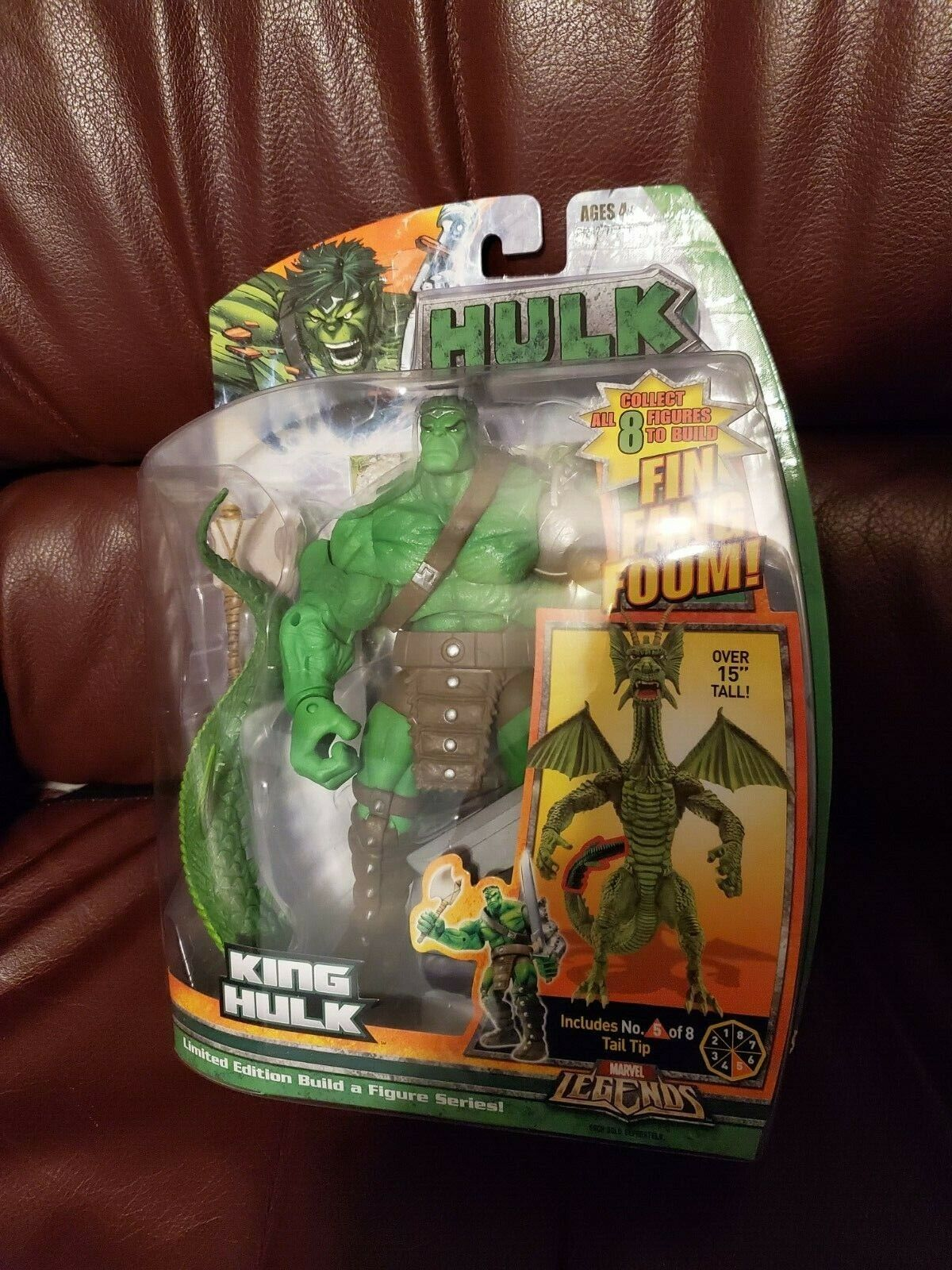 Marvel Legends King Hulk Fin Fang Foom BAF