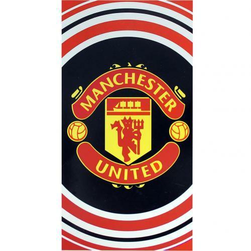 Manchester United FC FC FC Official PL Large Velour Beach Towel aed75a