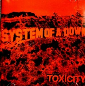 System Of Down - Toxicity  -  CD, VG