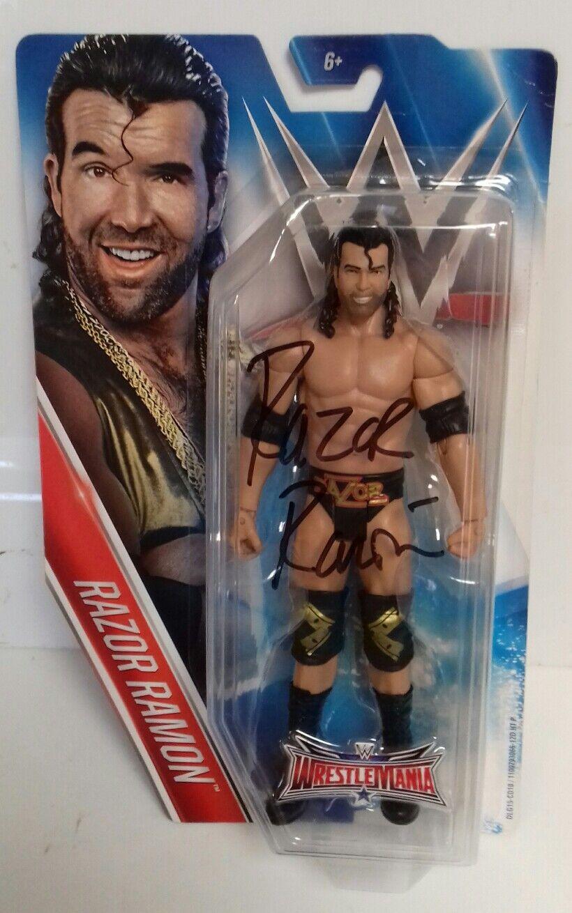 WWE-Luchador Nwo Scott Hall Razor Ramon firmado ganó Moc Figura 2015