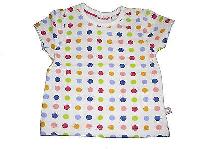 Ehrgeizig Neu Liegelind Süßes T-shirt Gr. 68 Weiß Mit Bunten Punkten !! Kaufen Sie Immer Gut