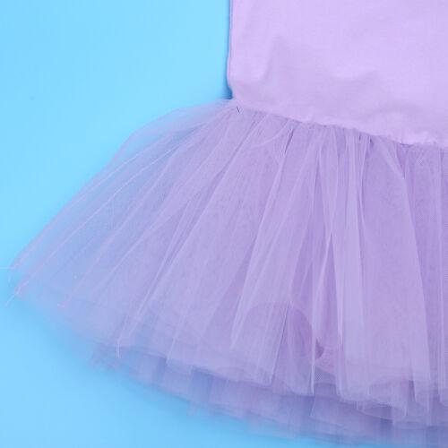 Girls Ballet Dance Tutu Dress Toddler Child Swan Skirt Dancewear Skating Dress