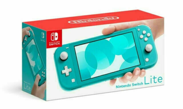 Nintendo Switch Lite Handheld Console - Turquoise (HDH-001)