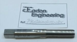 """5//8/"""" x 24TPI UNEF Unified National Extra Fine Straight Machine Tap HSS."""