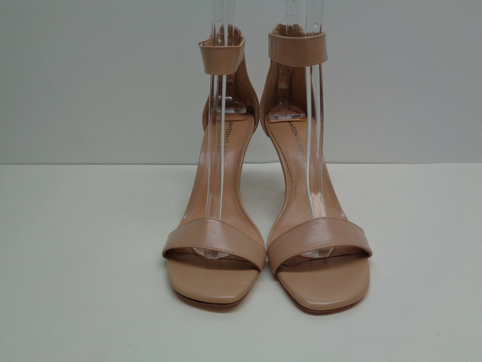 Antonio Melani Dimensione 6 M HAMILTON Biege Biege Biege Leather Dress Sandals New donna scarpe 7519d8