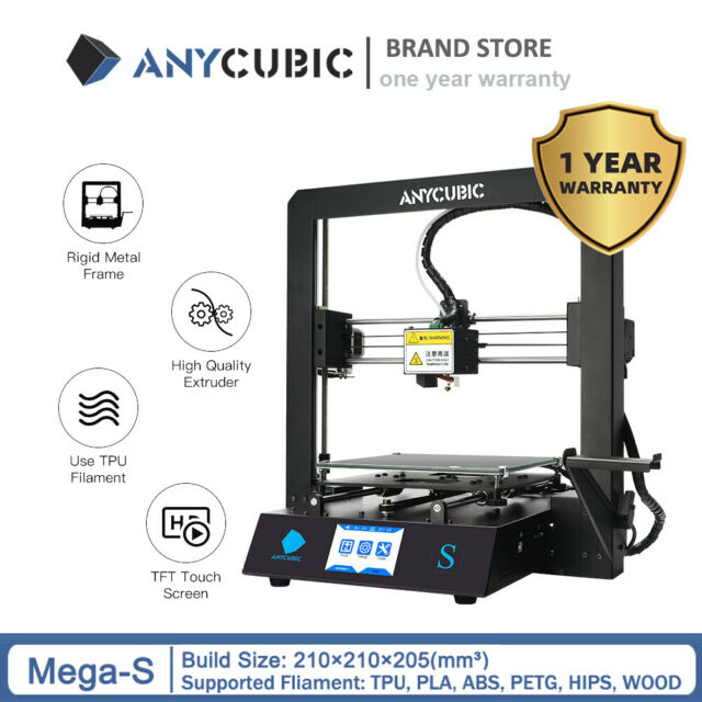 CA Stock Anycubic MEGA-S 3D Printer Upgrade Full Metal Frame with PLA Filament
