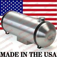 Spun Aluminum Fuel Tank With Sump For Fuel Injection 8 X 40 Inch End Fill