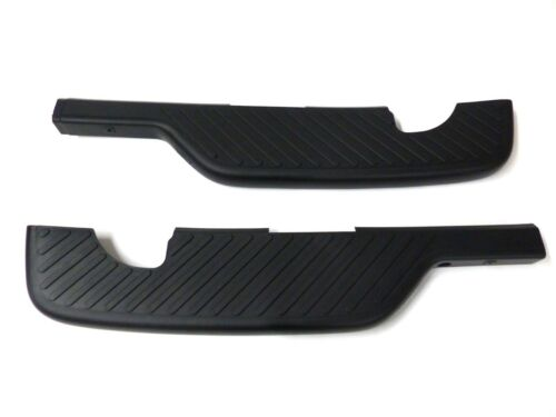OEM NEW Rear Right /& Left Bumper Scuff Step Pad Cover Set 97-04 F-150 Flareside