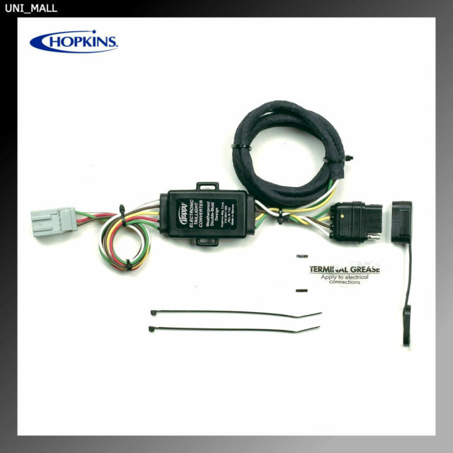 hopkins towing solution 43105 plug in simple vehicle to trailer rh ebay com