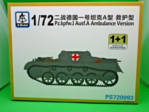 S-Model MPz.kpfw.I Ausf A Ambulance Version  PS720093 OVP//MIB