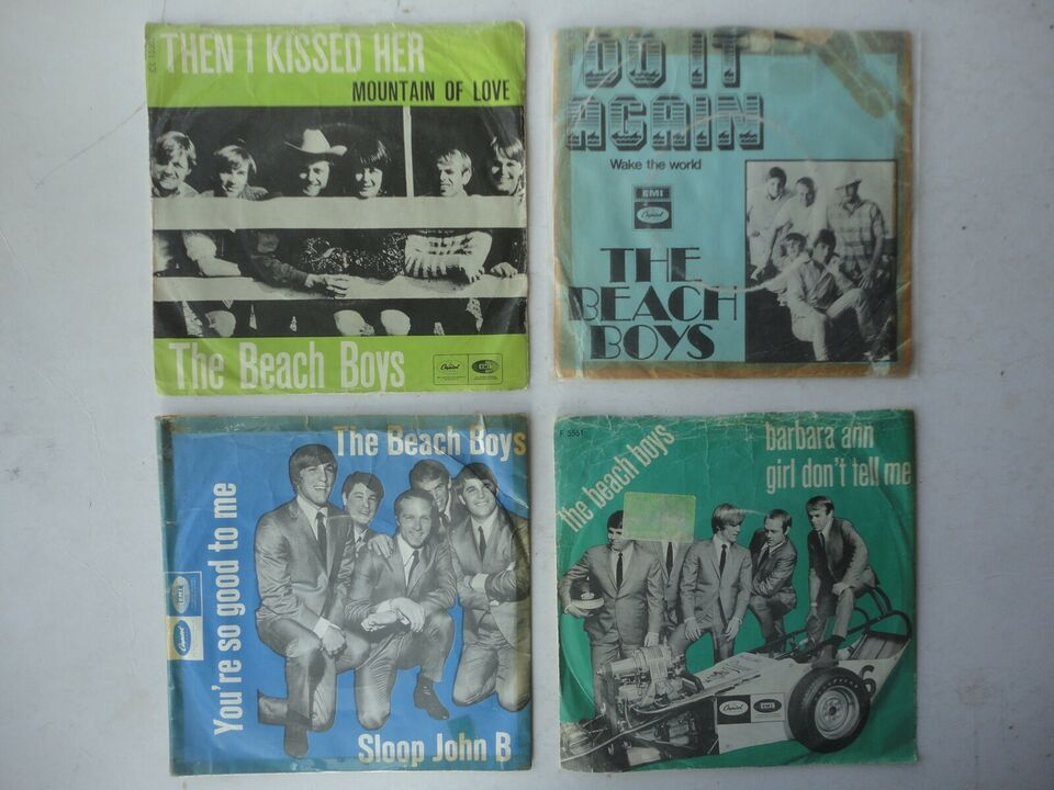 Single, BEACH BOYS, Brian Wilson