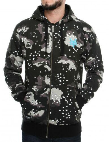 Zoo York Apollo Jacke Zip Hoody Sweater Camo skateboard Pullover camouflage