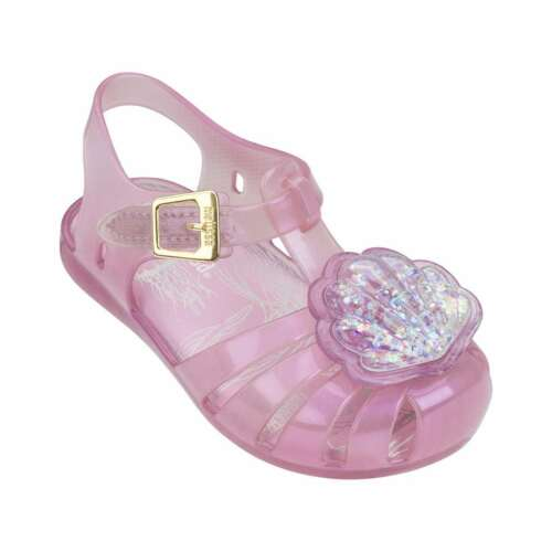 Mini Melissa Baby Girls Toddlers Mini Aranha XII Seashell Cutout Sandals Shoes