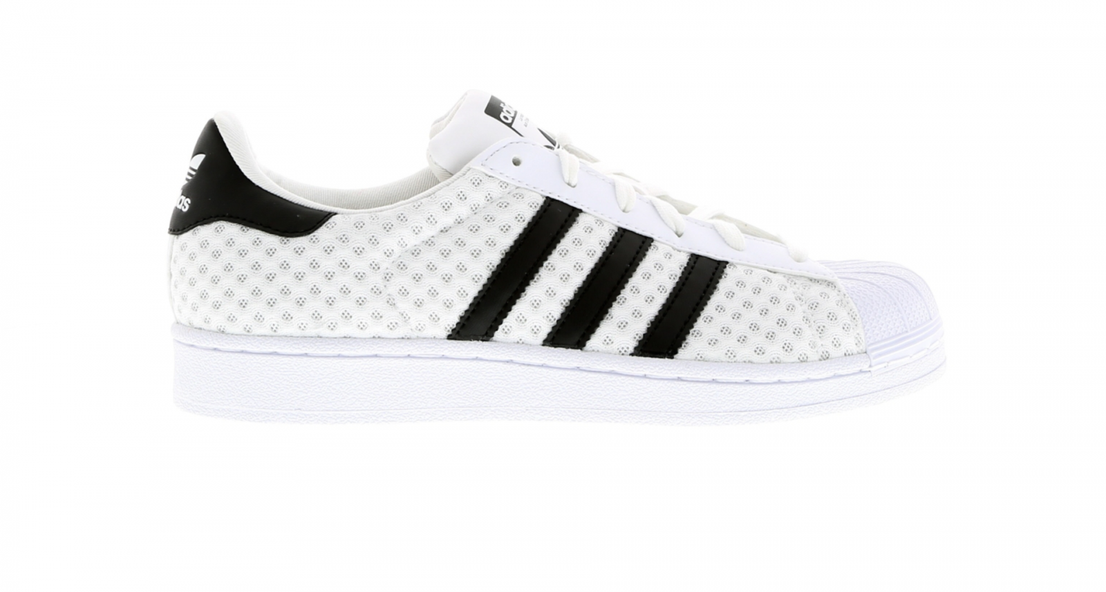 Short femme ADIDAS SUPERSTAR W Blanc Baskets BB5550