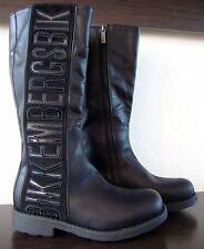 BIKKEMBERGS Stiefel Kinderstiefel Mädchen Schuhe Boots Schwarz Gr.31 NEU