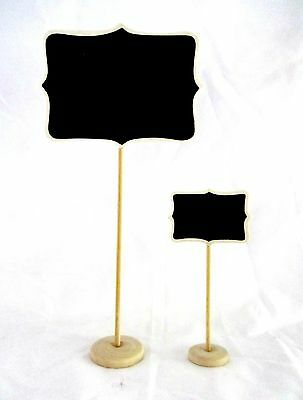 6 x Giant + 48 Mini Vintage Chalkboard Stand | Blackboard | Wedding, Party, Sign