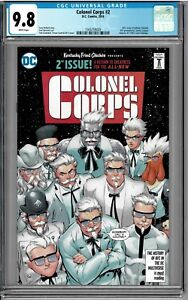 DC KFC: The Colonel Corps #2 Infinite Crisis San Diego Comic Con SDCC CGC 9.8!!!