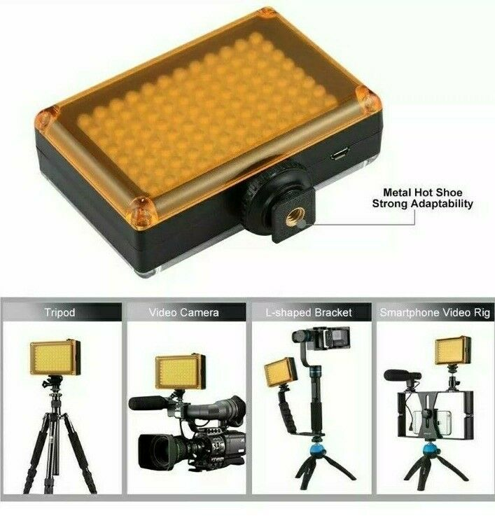 Ghost Hunting LED Light Dimmable Hot Shoe Paranormal Lighting Video Blogging