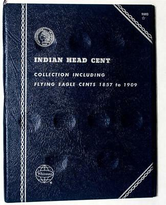 Whitman Flying Eagle Indian Head /& Lincoln Wheat Cent No.1 Coin Folder Holder