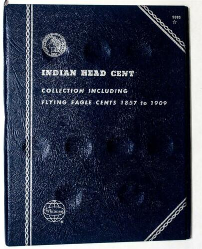 Indian Head Cent Collection W//Flying Eagle 1857-1909 Whitman Folder #9003 New