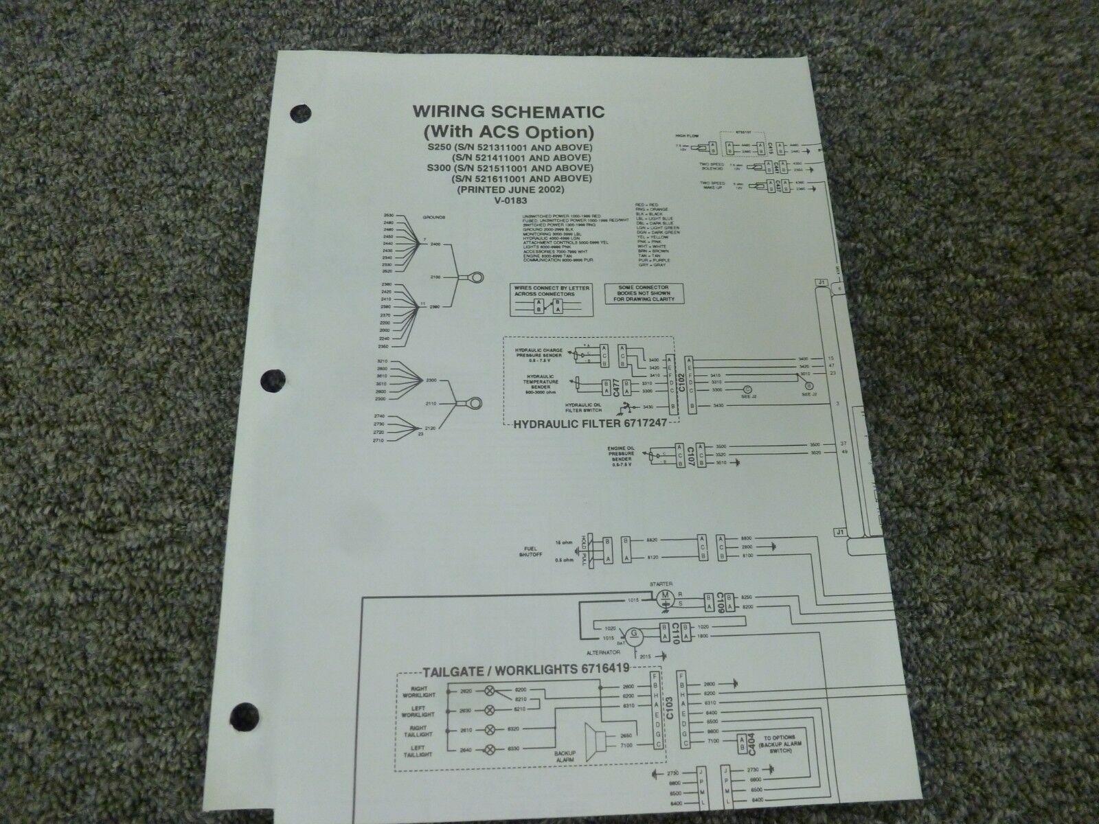 [EQHS_1162]  Ertl S300 Bobcat Loader With Original Tag for sale online | eBay | T300 Bobcat Wiring Diagram |  | eBay