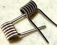 Nichrome 80 Fused Clapton Coils, 3mm 6 wrap - 4pcs Handmade - RDA RBA RTA RDTA