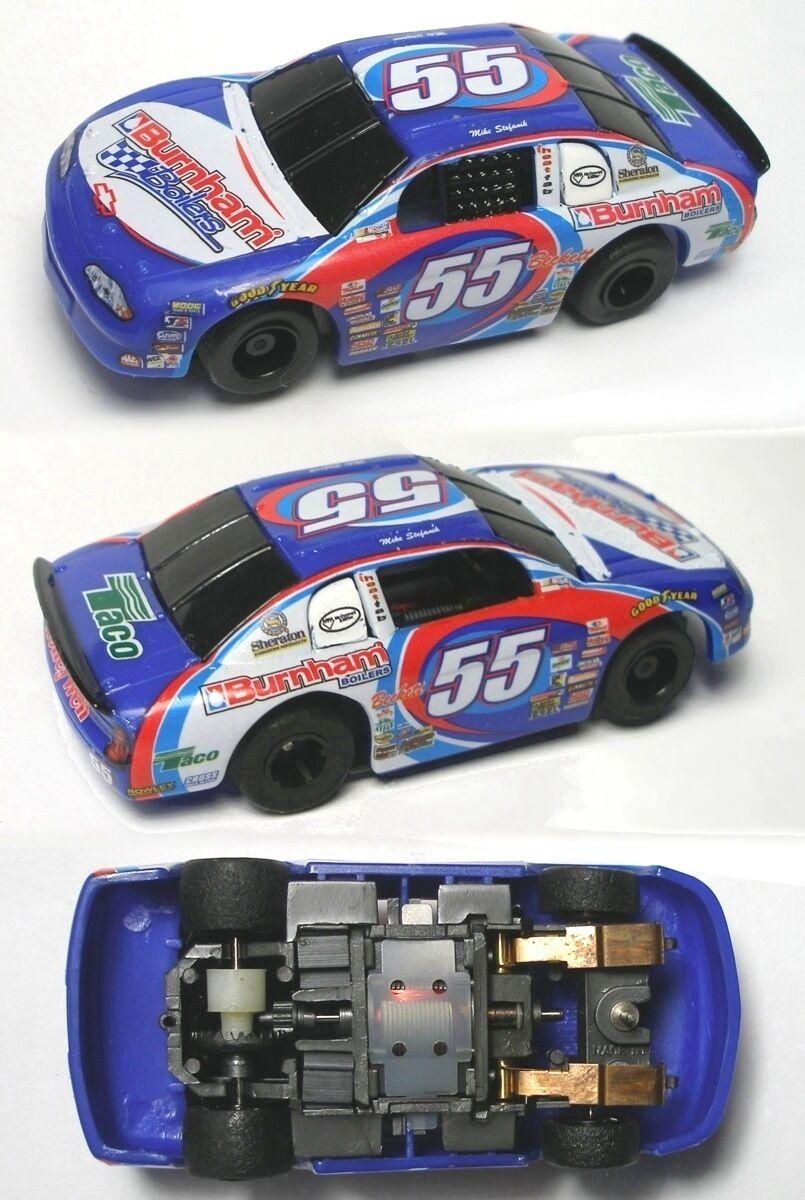 2004 TYCO 440-X2 RARE RARE RARE BURNHAM Set Slot Car