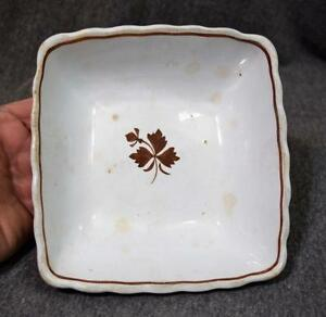 antique royal ironstone china alfred meakin england square bowl ebay