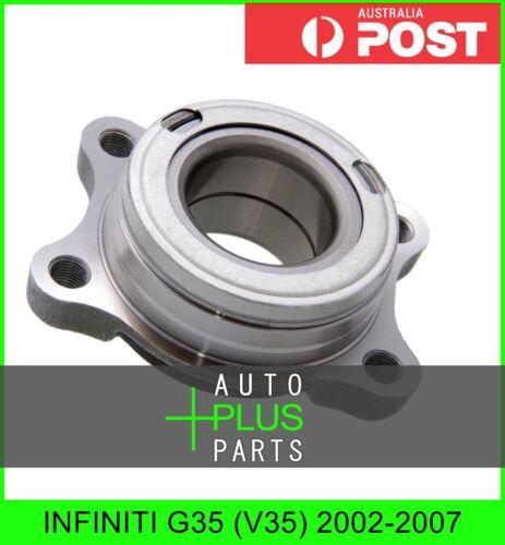 2002-2007 Fits INFINITI G35 V35 Front Wheel Bearing Hub