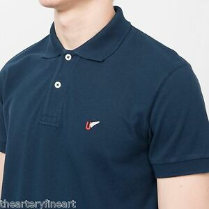 989a7a19 Details about MICHAEL BASTIAN x UNIQLO Men's Washed Short Sleeve Polo Shirt  L Solid Navy *NWT*
