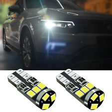 2x Xenon White LED Side Light Beam Canbus W5W 9SMDs Bulbs For Toyota Avensis T25