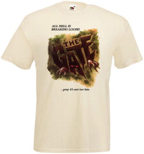 La porte v1 T-shirt Natural Movie Poster toutes tailles S... 5XL