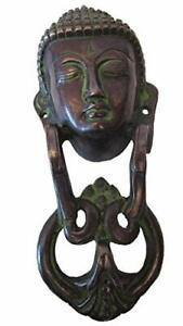 Buddha in ottone modello con batacchio pezzo forte Home Decor