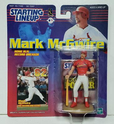 Starting Lineup MODESTO A/'S SLU 1999  MARK McGWIRE Loose Figure /&  Card