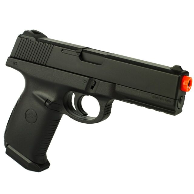 Double Eagle M27 Airsoft Spring Hand Gun Pistol With Locking Slide For Sale Online Ebay