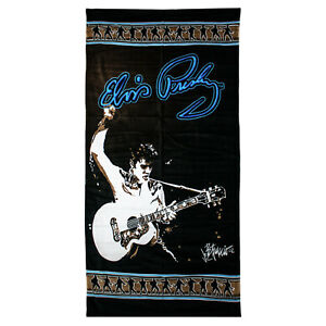 ELVIS PRESLEY - 150cm x 75cm 100% Cotton Beach Towel (Licensing Essentials) #NEW
