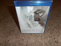 Dementia Blu-ray Dvd Brand Factory Sealed Movie