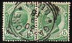 REGNO D'ITALIA 1906 - Coppia 5 cent. Vittorio Emanuele III, verde - Cat. SASSONE